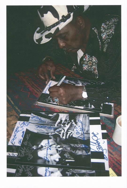 Image 3 for James Cotton - Autographed Signed Photograph with co-signers - HFSID 279551