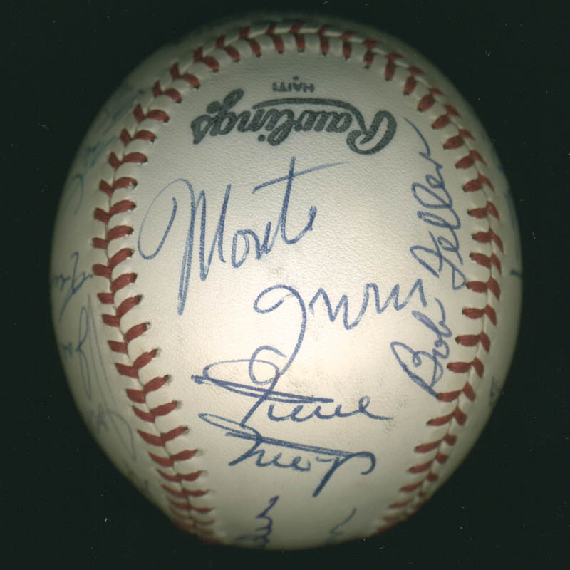 Image 3 for Hall Of Fame Baseball - Autographed Signed Baseball with co-signers - HFSID 279559