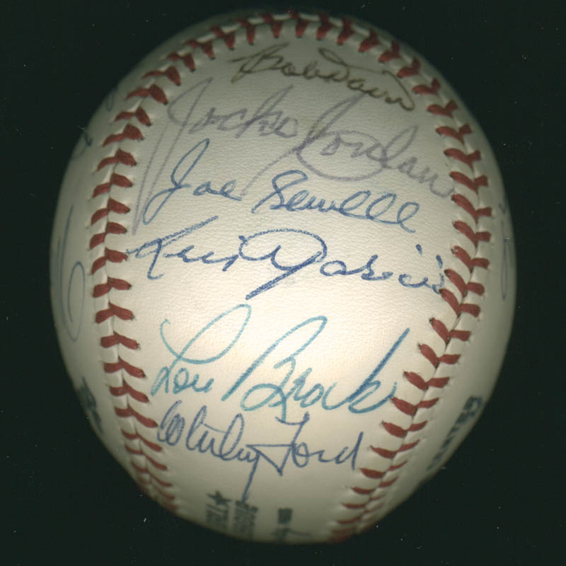 Image 5 for Hall Of Fame Baseball - Autographed Signed Baseball with co-signers - HFSID 279559