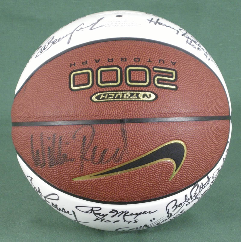 Image 4 for Hall Of Fame Basketball - Basketball Signed with co-signers - HFSID 279560