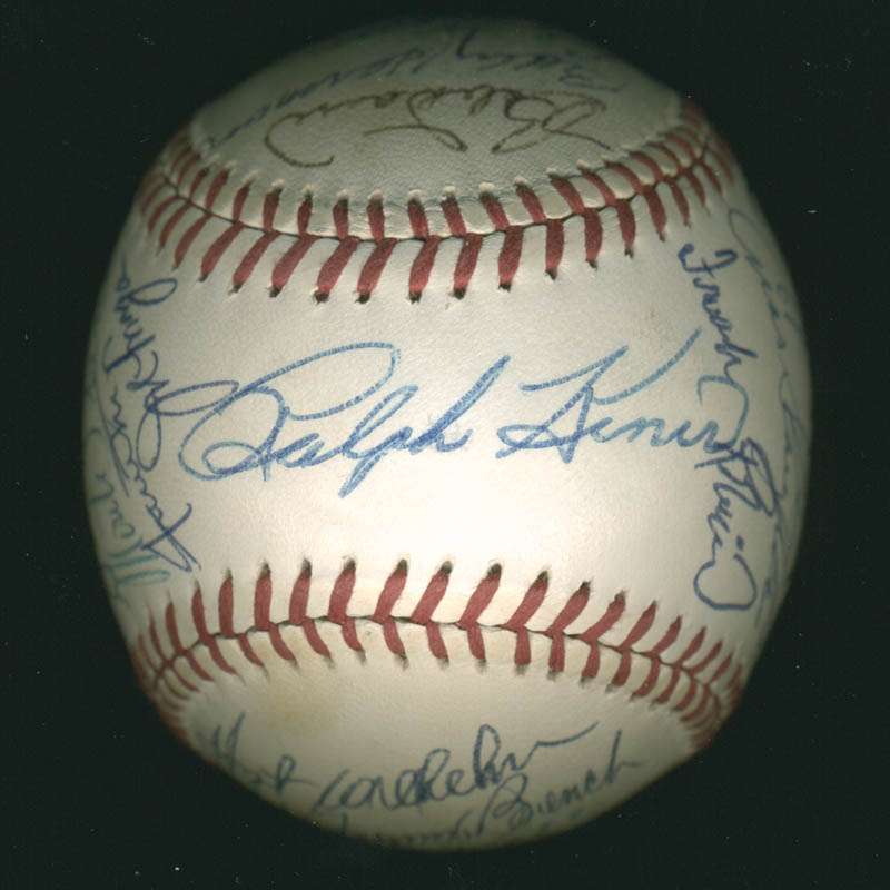 Image 1 for Hall Of Fame Baseball - Autographed Signed Baseball with co-signers - HFSID 279561