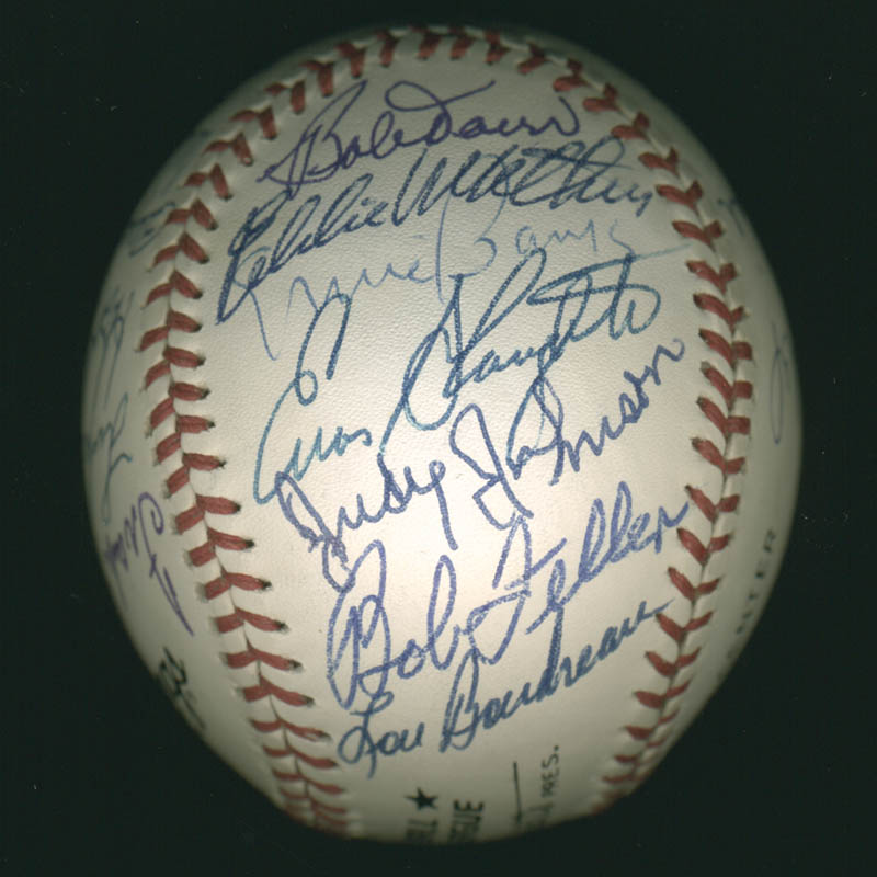 Image 5 for Hall Of Fame Baseball - Autographed Signed Baseball with co-signers - HFSID 279563