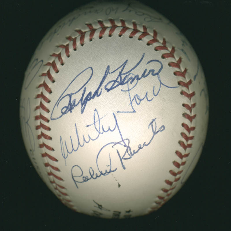 Image 6 for Hall Of Fame Baseball - Autographed Signed Baseball with co-signers - HFSID 279563
