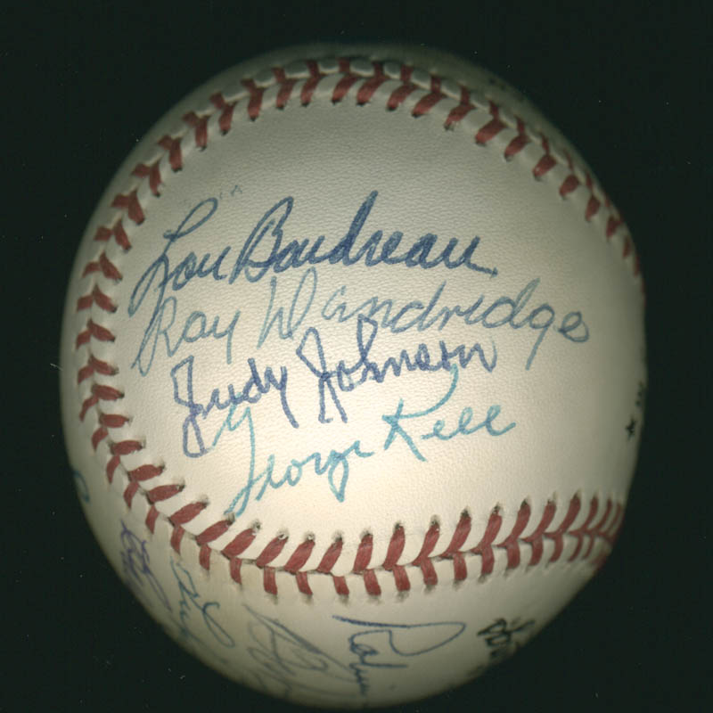 Image 5 for Hall Of Fame Baseball - Autographed Signed Baseball with co-signers - HFSID 279564