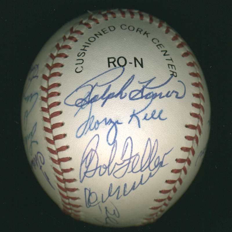 Image 4 for Hall Of Fame Baseball - Autographed Signed Baseball with co-signers - HFSID 279566