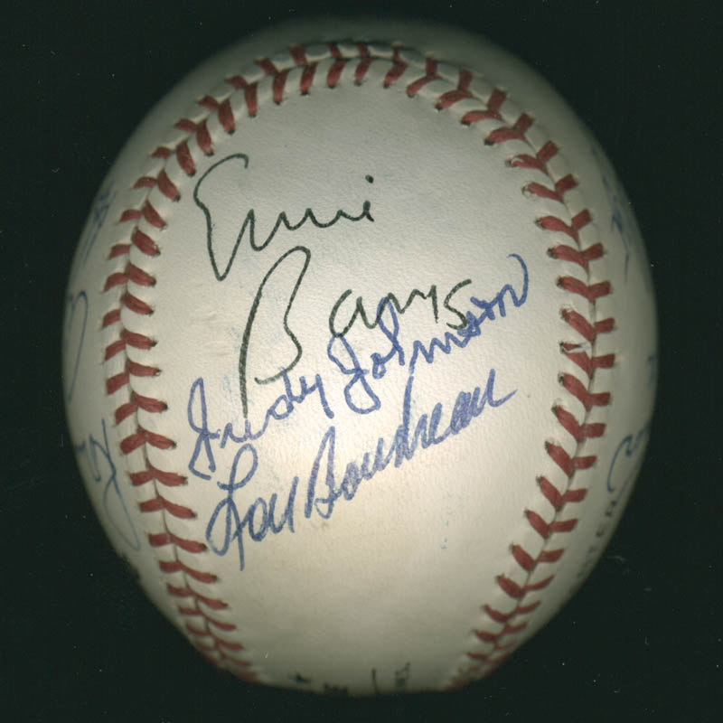 Image 5 for Hall Of Fame Baseball - Autographed Signed Baseball with co-signers - HFSID 279566