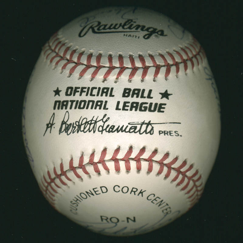 Image 7 for Hall Of Fame Baseball - Autographed Signed Baseball with co-signers - HFSID 279566
