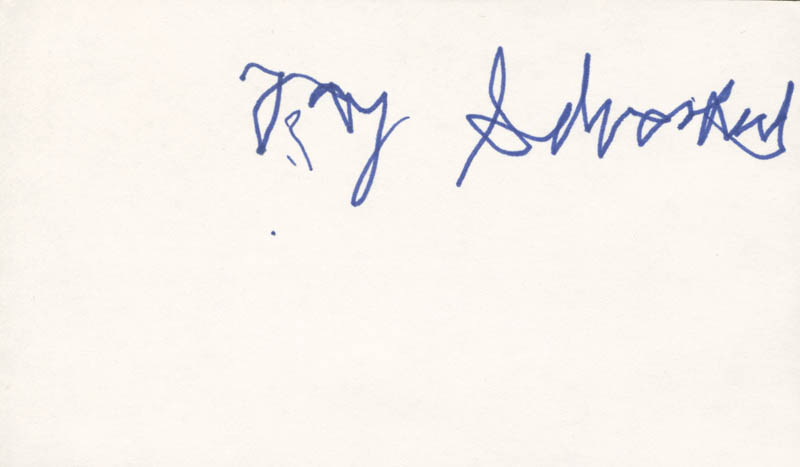 Image 1 for Jay 'Tonto' Silverheels - Autograph - HFSID 279621