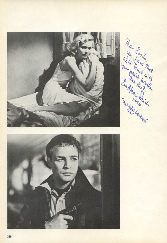 Image 1 for Eva Marie Saint - Inscribed Book Photograph Signed - HFSID 279646