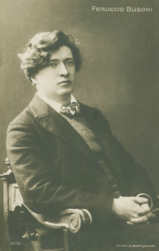 Image 4 for Ferruccio B. Busoni - Collection with Dalton Baker - HFSID 279700