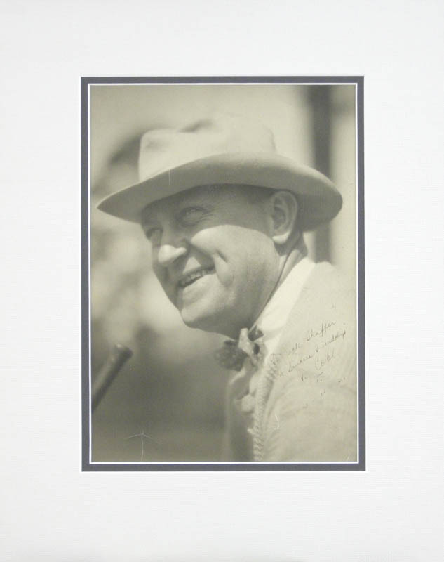 Image 1 for Ty Cobb - Autographed Inscribed Photograph 06/10/1931 - HFSID 279706