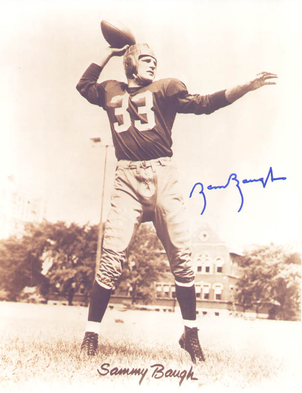Image 1 for Sammy Baugh - Autographed Signed Photograph - HFSID 279773