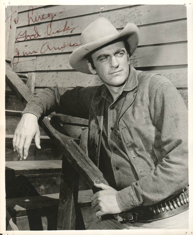 Image 1 for James Arness - Autographed Inscribed Photograph - HFSID 279782