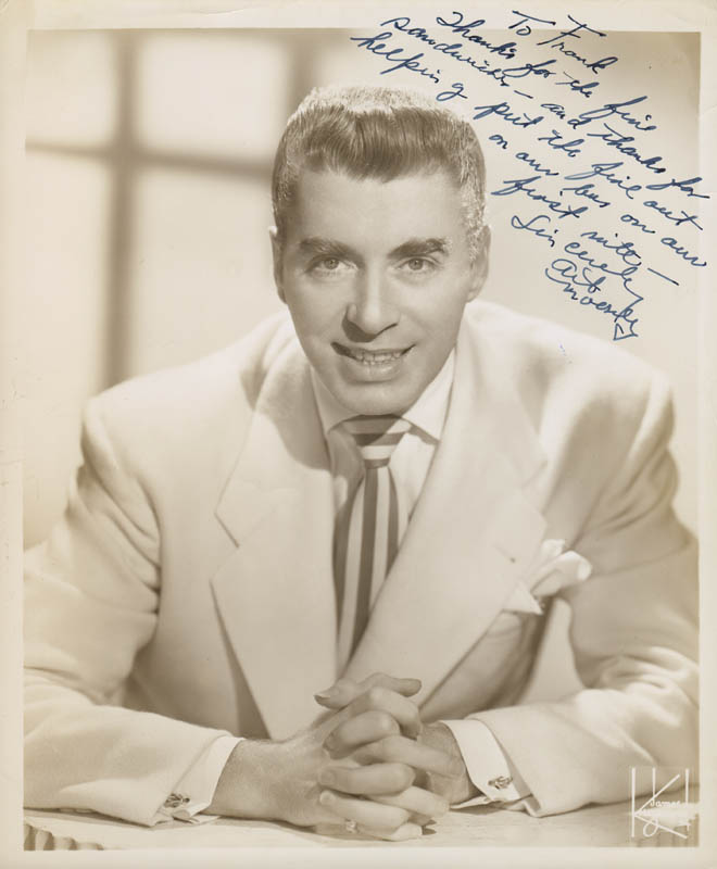 Art Mooney - Inscribed Photograph Signed | Autographs & Manuscripts ...