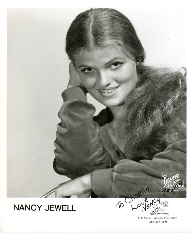 Image 1 for Nancy Jewell - Autographed Inscribed Photograph - HFSID 279993