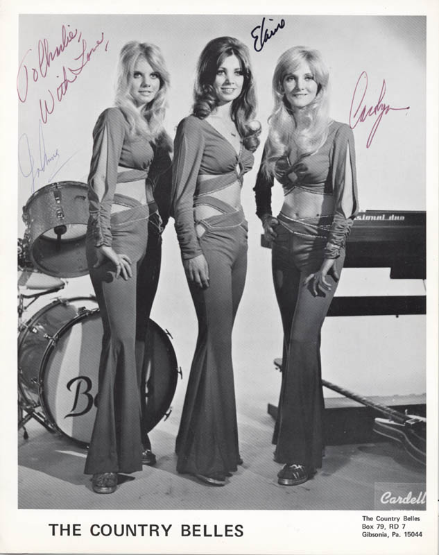 Image 1 for Country Belles, The - Autographed Inscribed Photograph with co-signers - HFSID 280059