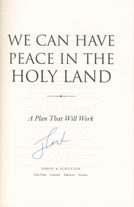 Image 1 for President James E. 'Jimmy' Carter - Book Signed - HFSID 280138