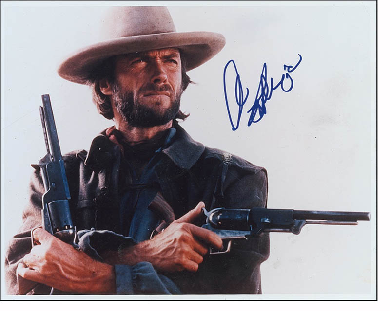 Image 1 for Clint Eastwood - Autographed Signed Photograph - HFSID 280160