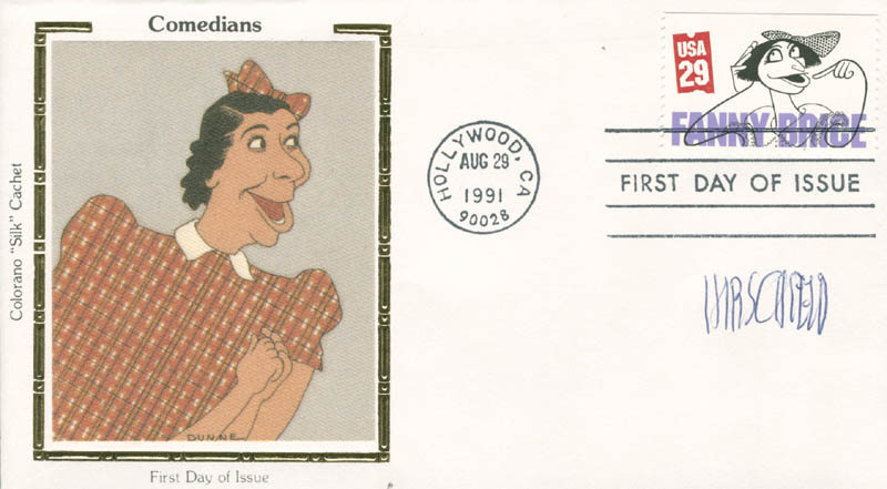 Image 1 for Al Hirschfeld - First Day Cover Signed - HFSID 280190