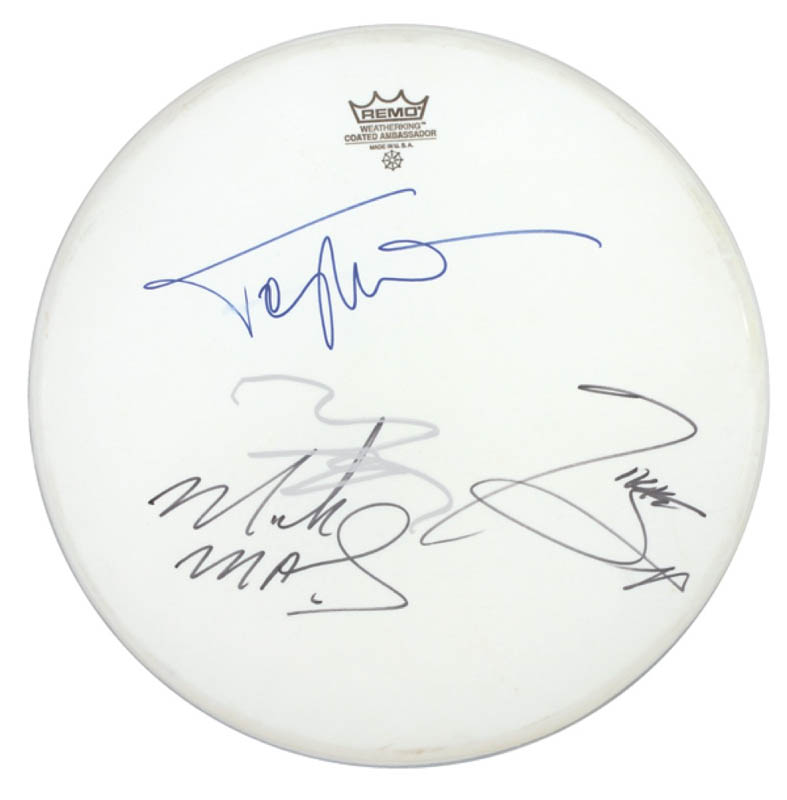 Image 1 for Motley Crue - Drumhead Signed with co-signers - HFSID 280209