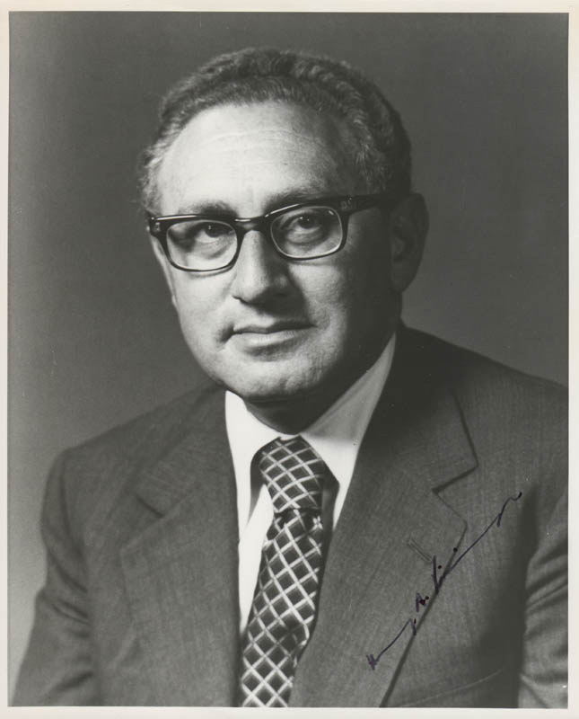 Image 1 for Henry A. Kissinger - Autographed Signed Photograph - HFSID 280398