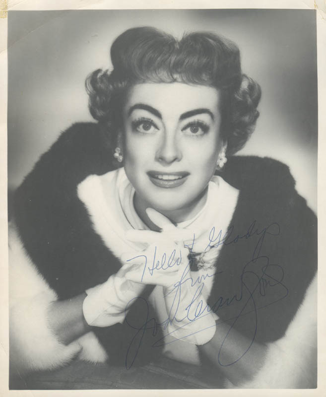 Image 1 for Joan Crawford - Autographed Inscribed Photograph - HFSID 280435