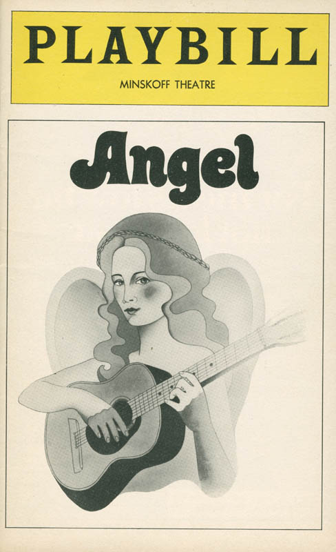Image 3 for Angel Broadway Cast - Show Bill Signed co-signed by: Fred Gwynne, Frances Sternhagen - HFSID 280447