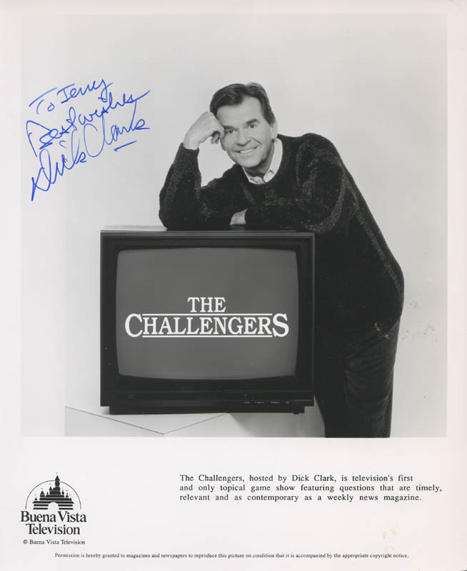 Image 1 for Dick Clark - Autographed Inscribed Photograph - HFSID 280469