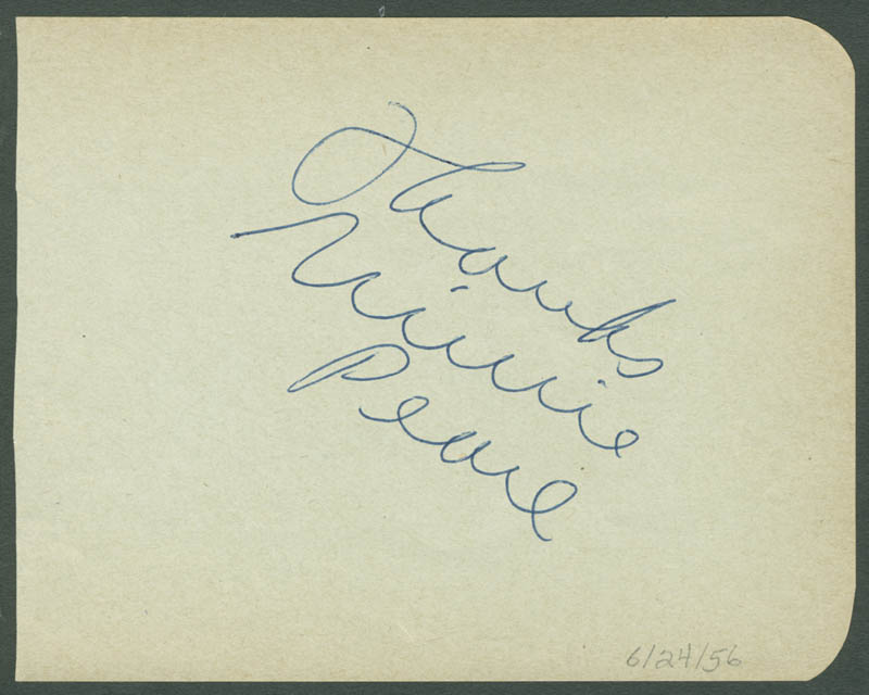 Image 1 for Minnie Pearl - Autograph Sentiment Signed - HFSID 280522