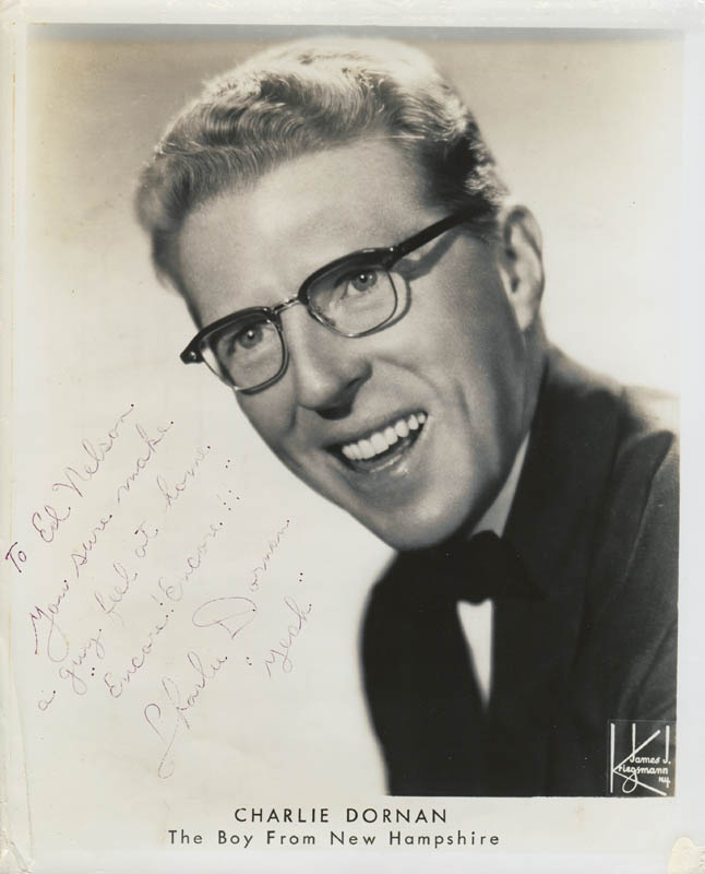 Image 1 for Charlie Dornan - Autographed Inscribed Photograph - HFSID 280609