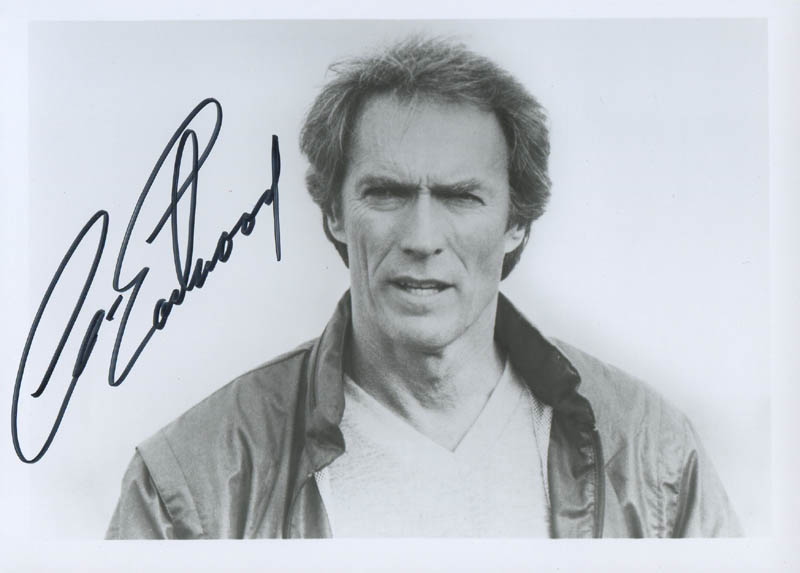 Image 1 for Clint Eastwood - Autographed Signed Photograph - HFSID 280648