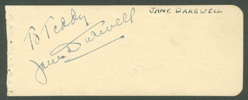 Image 1 for William Holden - Inscribed Signature co-signed by: Jane Darwell - HFSID 280682