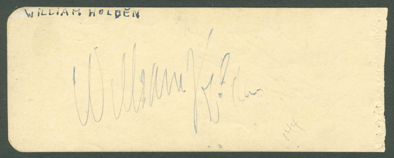 Image 3 for William Holden - Inscribed Signature co-signed by: Jane Darwell - HFSID 280682