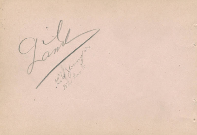 Image 3 for Jane Withers - Inscribed Signature co-signed by: Gil Lamb - HFSID 280738