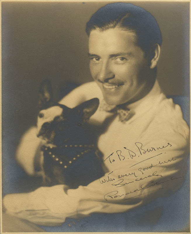 Image 1 for Ronald Colman - Autographed Inscribed Photograph - HFSID 280796