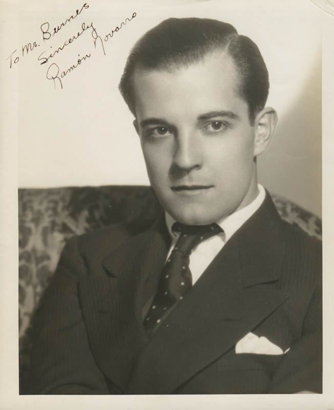 Image 1 for Ramon Novarro - Autographed Inscribed Photograph - HFSID 280799