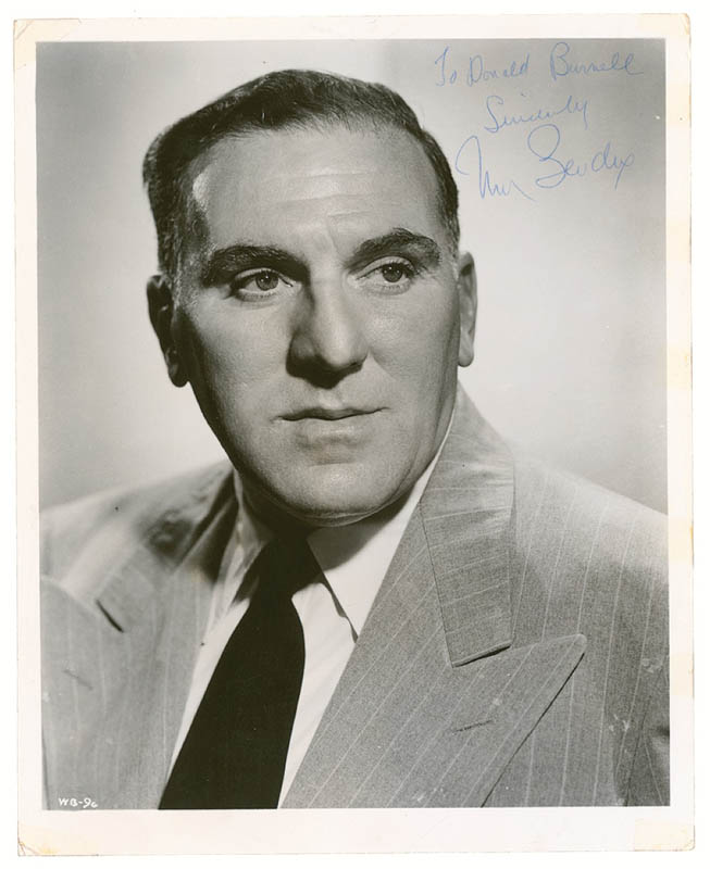 Image 1 for William Bendix - Autographed Inscribed Photograph - HFSID 280951