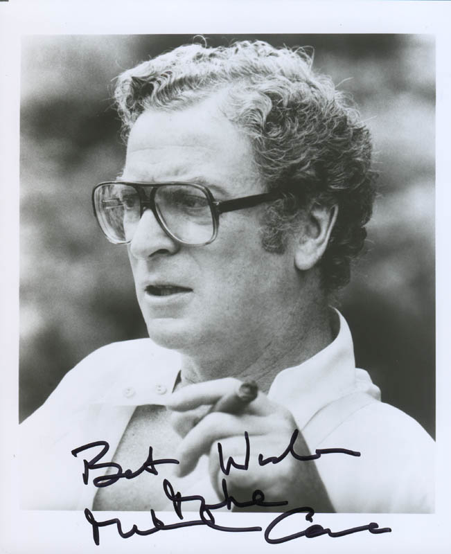 Image 1 for Michael Caine - Autographed Signed Photograph - HFSID 281050