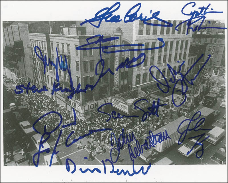 Image 1 for Fillmore East - Autographed Signed Photograph with co-signers - HFSID 281120