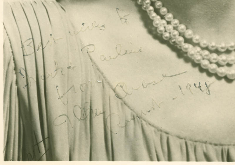 Image 3 for Ilka Chase - Autographed Inscribed Photograph 1948 - HFSID 281142