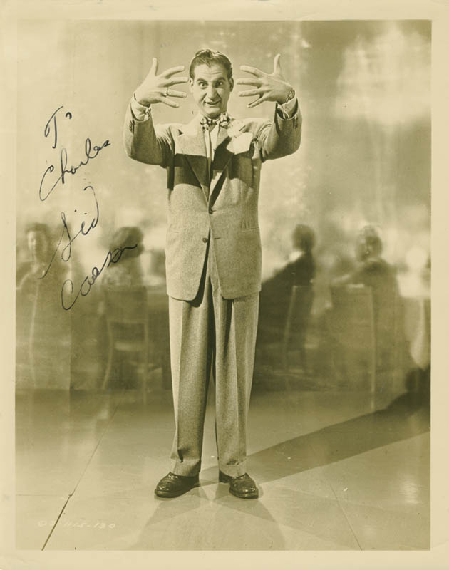 Image 1 for Sid Caesar - Autographed Inscribed Photograph - HFSID 281160