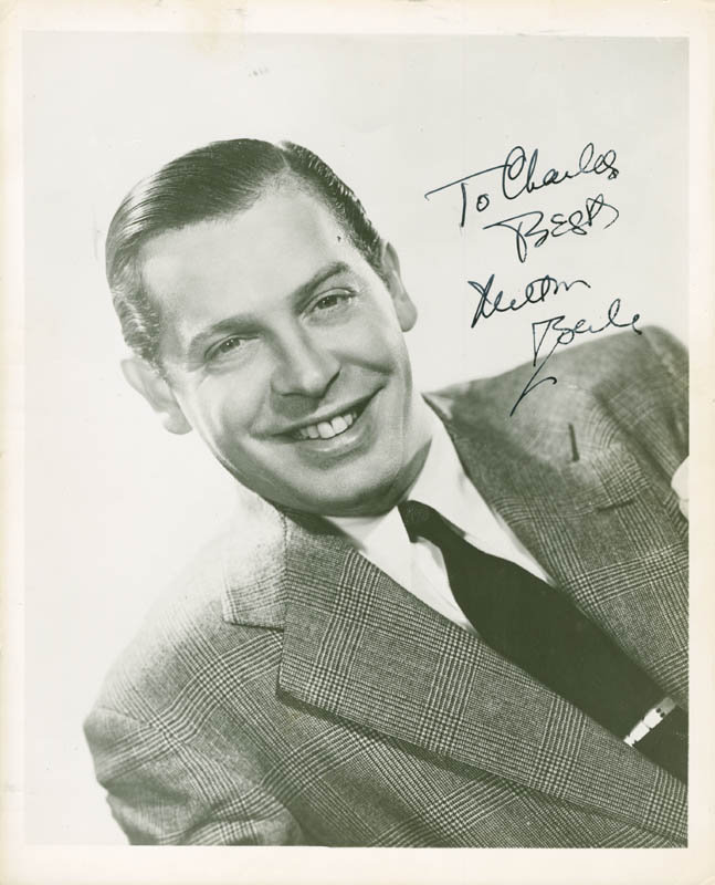 Image 1 for Milton Berle - Autographed Inscribed Photograph - HFSID 281161
