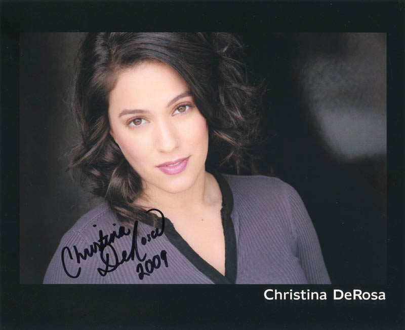 Image 1 for Christina Derosa - Autographed Signed Photograph - HFSID 281322