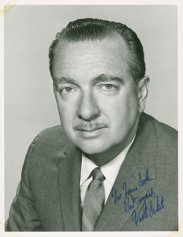 Image 1 for Walter Cronkite - Autographed Inscribed Photograph - HFSID 281365