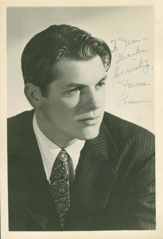 Image 1 for James L. 'Rip' Brown - Autographed Inscribed Photograph - HFSID 281445