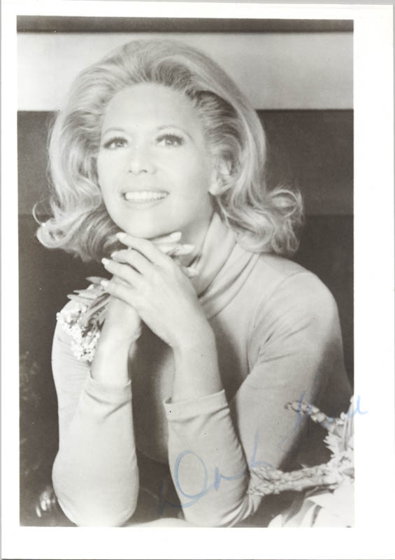 Image 1 for Dinah Shore - Autographed Signed Photograph - HFSID 281450