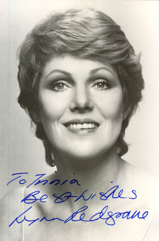 Image 1 for Lynn Redgrave - Autographed Inscribed Photograph - HFSID 281454