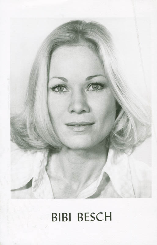 Image 3 for Bibi Besch - Inscribed Picture Postcard Signed - HFSID 281566