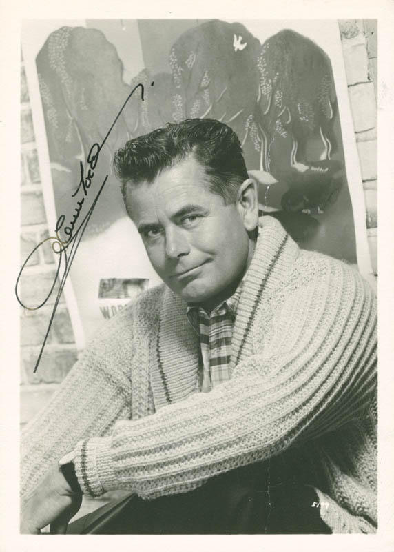 Image 1 for Glenn Ford - Autographed Signed Photograph - HFSID 281576
