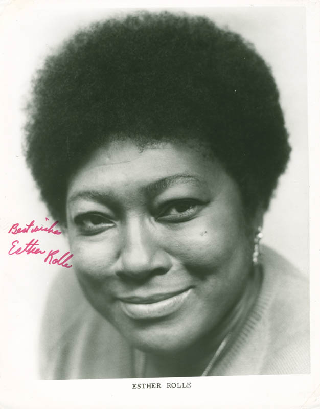 Image 1 for Esther Rolle - Autographed Signed Photograph - HFSID 281616